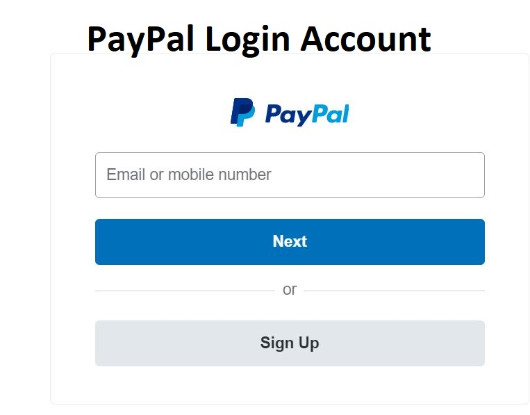 PayPal Login -  Log in to My PayPal Account